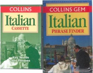 Collins Gem: Phrasefinder Italian - Book & Tape by Various