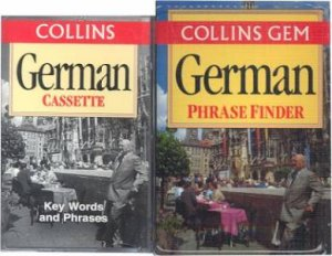 Collins Gem: Phrasefinder German - Book & Tape by Various
