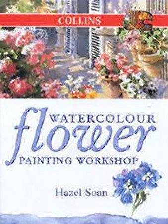 Collins Watercolour Flower Painting by Hazel Soan