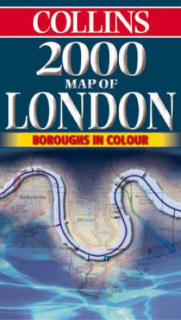 Collins Map: London 2000 by Various