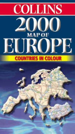 Collins Road Map: Europe 2000 by Various