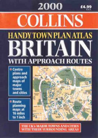 Collins Handy Town Plan Atlas: Britain 2000 by Various