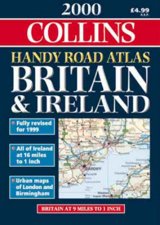 Collins Handy Road Atlas: Britain & Ireland 2000 by Various