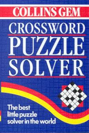 Collins Gem: Crossword Puzzle Solver by Various
