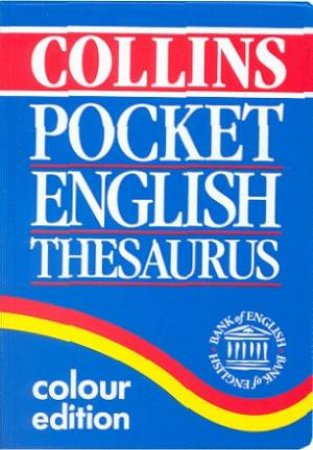 Collins English Pocket Thesaurus by Various