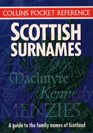 Collins Pocket Reference: Scottish Surnames by Various
