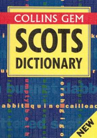 Collins Gem: Scots Dictionary by Various