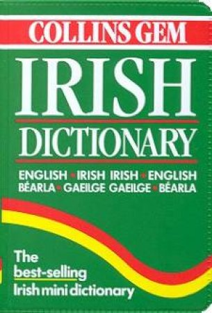 Collins Gem: Irish Dictionary by Various