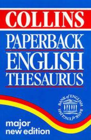 Collins Paperback English Thesaurus - 3 ed by Various