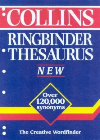 Collins Ringbinder Thesaurus by Various