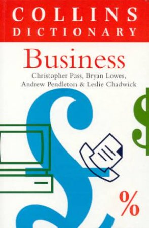 Collins Dictionary Of Business by Various