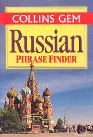 Collins Gem: Russian Phrase Finder by Various