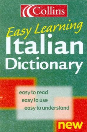 Collins Easy Learning Italian Dictionary by Various