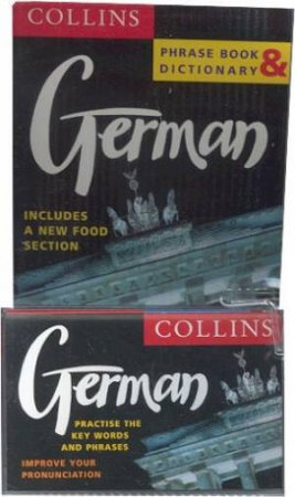 Collins German Phrase Book And Dictionary - Book & Tape by Various