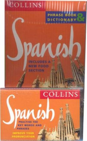 Collins Spanish Phrase Book And Dictionary - Book & Tape by Various