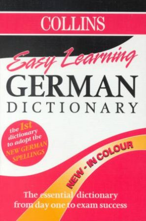 Collins Easy Learning German Dictionary by Various
