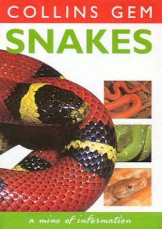 Collins Gem: Snakes by Various