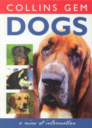 Collins Gem: Dogs by Various