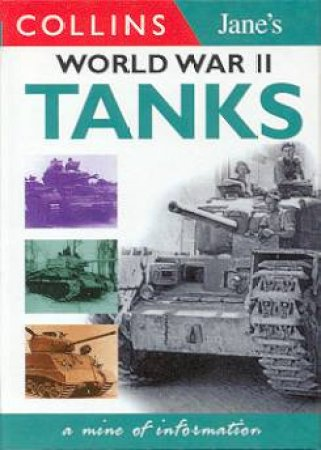 Collins Gem: Jane's World War II Tanks by Terry J Gander