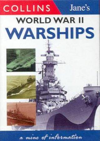 Collins Gem: Jane's World War II Warships by Bernard Ireland