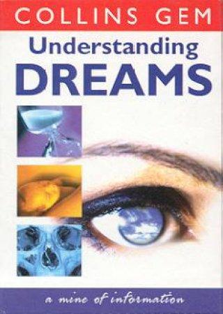 Collins Gem: Understanding Dreams by Various