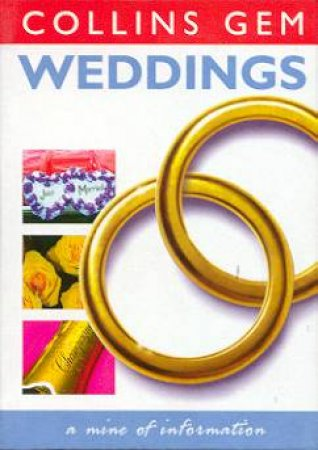 Collins Gem: Weddings by Various