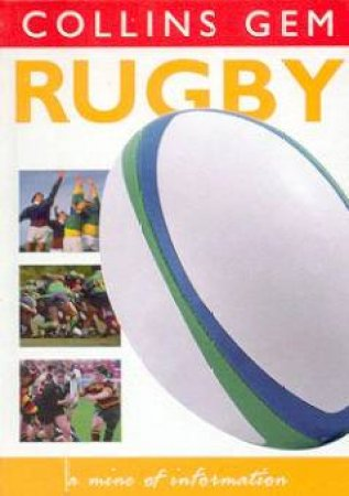 Collins Gem: Rugby by Various