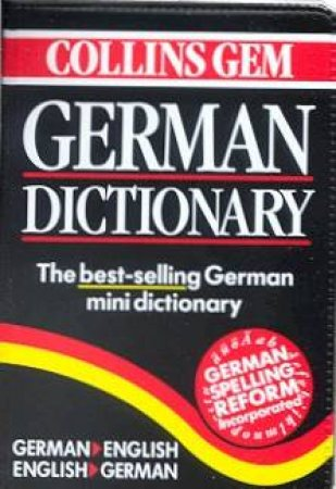 Collins Gem: German Dictionary - 5 ed by Various