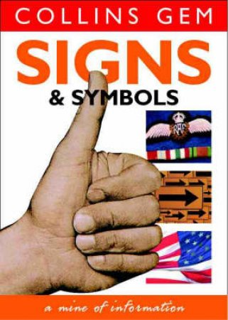 Collins Gem: Signs And Symbols by Various