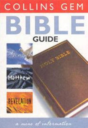 Collins Gem: Bible Guide by Various