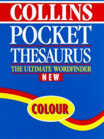 Collins Pocket Thesaurus by Various