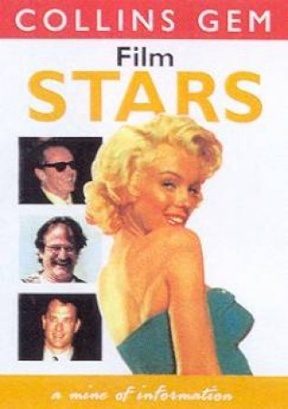 Collins Gem: Film Stars by Various