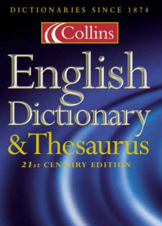 Collins English Dictionary & Thesaurus - 2 ed by Various