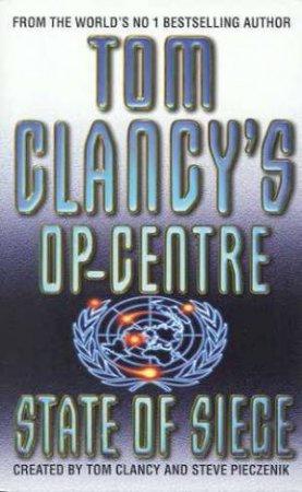 State Of Siege by Tom Clancy & Steve Pieczenik
