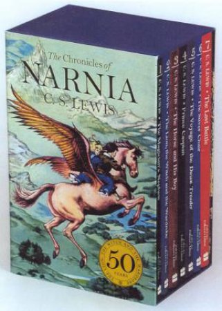 The Chronicles Of Narnia - Paperback Box Set by C S Lewis