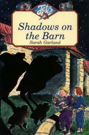 Colour Jets: Shadows On The Barn by Sarah Garland