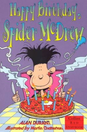 Collins Red Storybook: Happy Birthday Spider McDrew by Alan Durant