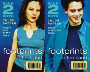 Back-2-Back: Footprints In The Sand by Chloe Rayban