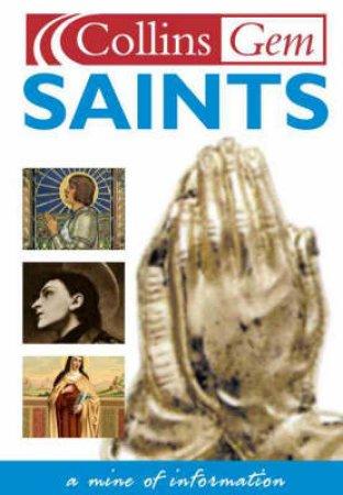 Collins Gem: Saints by Various