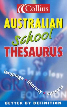 Collins Australian School Thesaurus by Various