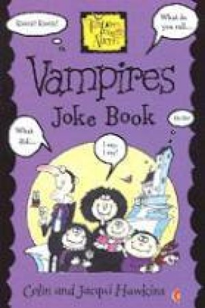 Vampires Joke Book by Colin & Jacqui Hawkins
