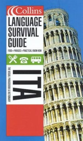 Collins Language Survival Guide: Italy - CD Pack by Various