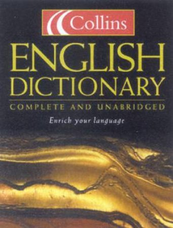 Collins English Dictionary - Thumb Index Edition - 6 ed by Various