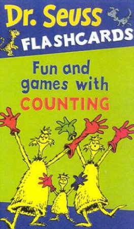 Dr Seuss Flashcards: Fun And Games With Counting by Dr Seuss