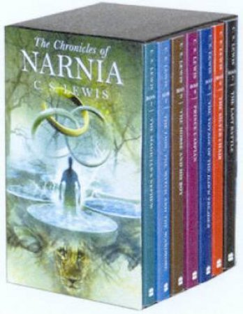 The Chronicles Of Narnia - Fantasy Covers - Paperback Box Set by C S Lewis