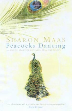 Peacocks Dancing by Sharon Maas