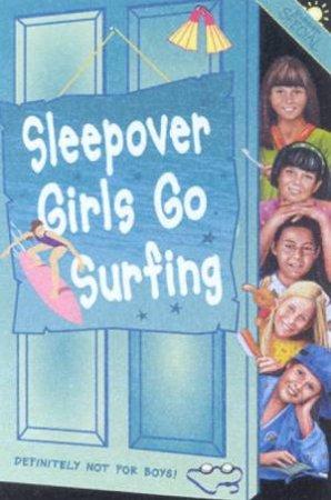 Sleepover Girls Go Surfing by Harriot Castor
