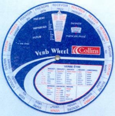 Collins Cobuild English Verb Wheel - Pack Of 30 by Unknown