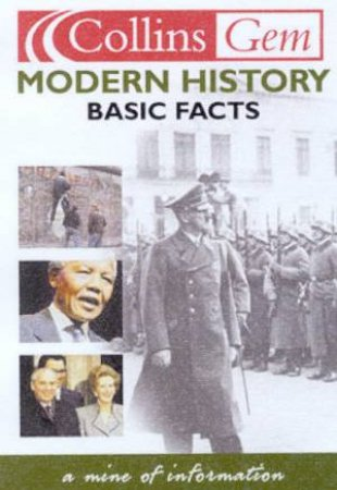 Collins Gem: Basic Facts - Modern History by Various