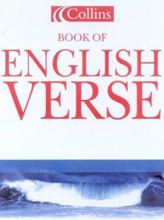Collins Book Of English Verse by Various